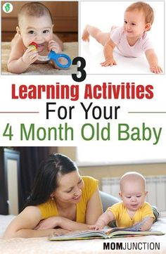 Feeling excited about your baby turning 4 months? Want to make learning more fun for your little one? Check here 3 learning activities for 4 month old baby.