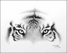 Los dibujos de lápiz Doug Landis.