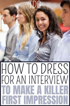 I'm telling you everything you need to know about what to wear for an interview for women outfits. You will be loving this complete guide that will help you know how to dress for an interview to make the best first impression that you possibly can in your interview. Best Part Time Jobs, Best Small Business Ideas, Interview Dress, College Life Hacks, Best Online Jobs, Easy Jobs, Make Money Fast, What To Wear, College Students
