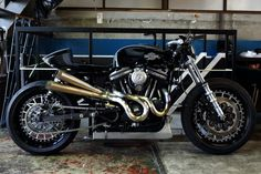 "Harley ""Sportster Cafè"" by Hide Motorcycle"