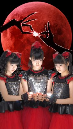 "some babymetal phone wallpapers ""like/reblog if using!! """