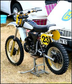 Classic 1980 Husky 390... similar to the one Chuck Sun rode.