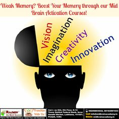 #MidBrain #Memory #Activation #Course #Franchise Creativity And Innovation, Brain, Memories, Activities, Learning, The Brain, Memoirs, Souvenirs, Study