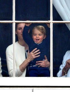 Prince George couldn't be cuter at the Trooping the Colour event! Click through to see all the adorable pictures.
