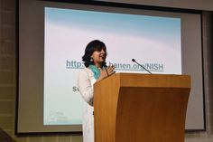 Sowmya Menon, a true Hanen Champion, giving a presentation on the Hanen approach to over 100 attendees at the National Institute of Speech and Hearing in Thiruvananthapuram, India. Take a look at our Facebook page for more inspiring images from the event! Speech And Hearing, Champion, Presentation, Around The Worlds, Take That, India, Facebook, Inspiration, Image