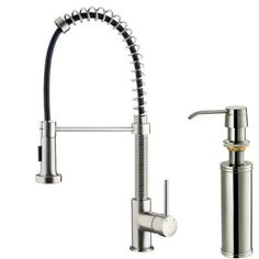 think this might be my new kitchen faucet!!giagni fresco