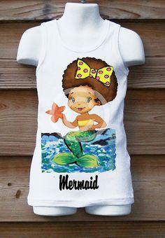 Mermaid3mos12y by MonkeyTees on Etsy, $20.00