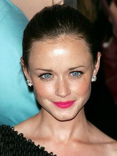 """Alexis Bledel: """"About once a week, I steam my face with pure olive oil... You just get a bowl of hot water, dab a little olive oil on your dry spots and let it do its work. It's an old trick that really works and your skin stays soft and line free."""""""