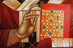 Купить икона святой Николай чудотворец . 22 на 28 - николай, никола, коля, чудотворец, икона