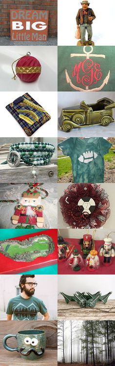 Dream Big!  Gifts for Him by Jennifer Burrell on Etsy--Pinned with TreasuryPin.com