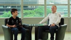 Mercedes AMG Petronas - The Three Dreamers Quiz Lewis Hamilton And Valtteri Bottas (VIDEO)