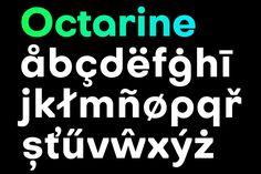 Octarine – Free Font Family