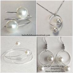La beauté est dans le regard.  www.isabellelehouxmontreal.com Taxes incluses.  Livraison gratuite. Pearl Earrings, Pearls, Jewelry, Fashion, Moda, Pearl Studs, Jewlery, Jewerly, Fashion Styles