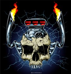 Find Skull Dragster Engine stock images in HD and millions of other royalty-free stock photos, illustrations and vectors in the Shutterstock collection. Thousands of new, high-quality pictures added every day. Skull Stencil, Skull Art, Chevy Tattoo, V8 Tattoo, Hot Rod Tattoo, Engine Tattoo, Monster Car, Psychedelic Drawings, Skull Wallpaper