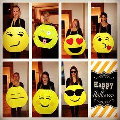 Emojis! Halloween costume