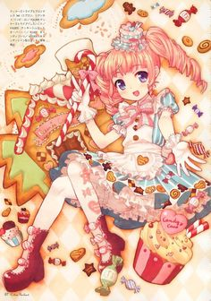 (2) found Lolita Art nice layout for fanart                              …