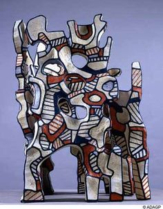 jean dubuffet sculpture | Artistes & Designers: JEAN DUBUFFET