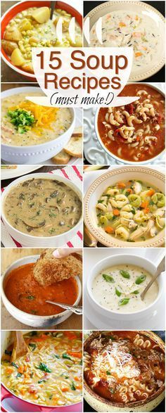 Hungry? A bowl of soup always does the trick! Check out thees 15 absolutely delicious winter soup recipes! The white chicken chili is one of…
