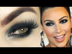 Makeup Olhão Kim Kardashian - Maquiagem com olho esfumado fácil <3