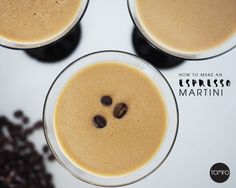So, I went away on a girls mini break last weekend (so much fun) and we had these… Espresso Martinis. I'm not a coffee drinker. But maybe I've turned. OMG, just yum! I goog…