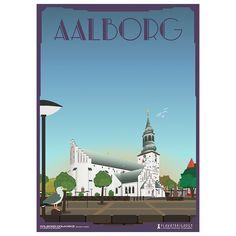 Limited edition plakat af Aalborg Domkirke/Budolfi Kirke Aalborg, Travel Posters, Danish, Zodiac Signs, Den, All Things, Miniature, Wallpaper, Drinks