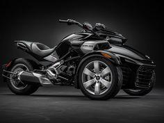 2015 Can-Am Spyder F3 in Steel Black Metallic