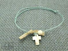 Μαρτυρικά βραχιολάκια Christening, Diy And Crafts, Beach Ideas, Earrings, Jewelry, Party, Cake, Jewels, Manualidades