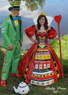 12 Creative Duct Tape Prom Dresses. Oh my goodness these are so creative and amazing!