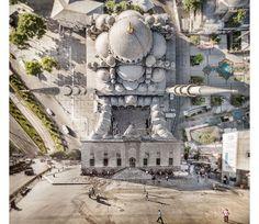 Artista distorce as paisagens de Istambul em incrível projeto fotográfico