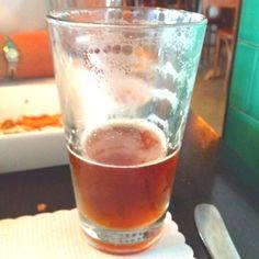 A cool beer at Umami Burger