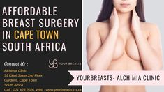 Your Breasts is an independent company Focusing on affordable breast surgery in cape town for those women unable to afford the high prices. Price Quote, In Cosmetics, Plastic Surgery, Cape Town, 6 Years, Clinic, How Are You Feeling, Breast, Things To Come