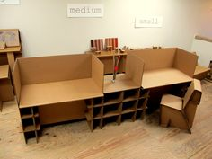 Cardboard Office Furniture | chairigami