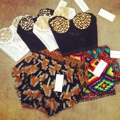 runway dreams clothing. love the tribal shorts in front !