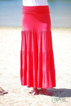 3 Tiered Maxi Skirt