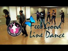 The Line Dance Queen and The Royal Court dance to Feel Good by Urban Mystic. Its a easy intermediate 2 wall Line Dance that is fun and fast Paced. Queen Youtube, Royal Court, Dance Class, Dance Videos, Line, Feel Good, Mystic, Things To Think About, Exercises