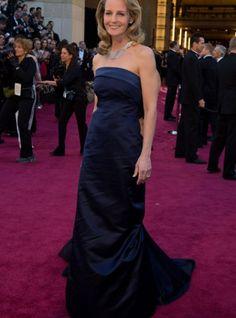 Helent Hunt con un vestido de H en la gala de los Oscar 2013