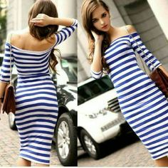 Striped Maxi dress SALE No trades Price firm!! Dresses Maxi