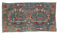 Skånsk åkdyna.  Southern Swedish pillow, antique.  Just wonderful!