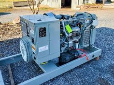 FOR SALE! 30KW MTU Natural Gas Generator ONLY $13,300.00 0 Hours Located at our shop in Abbotsford, BC. *Please click on the link below to learn more  *Freight and Taxes extra Please contact us for more information 1-604-791-1815  #generatorsales #generators #30kWgenerator #generatorsuppliers #naturalgasgenerator #powersystems Natural Gas Generator, Abbotsford Bc, Generators For Sale, Equipment For Sale, Link, Shop, Nature, Naturaleza, Natural