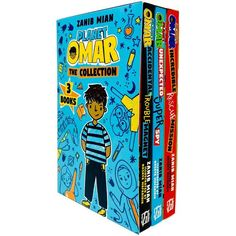 Planet Omar Series 3 Books Collection Set Unexpected Super Spy By Zanib Mian