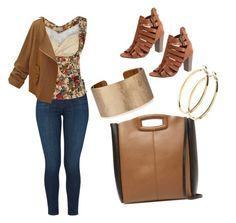 My First Polyvore Outfit by codrinabazu on Polyvore featuring polyvore fashion style J Brand Maje Panacea Pieces clothing