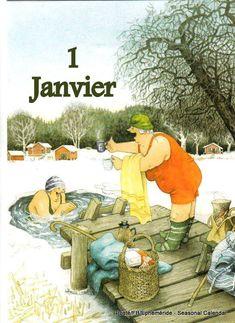 New single postcard by Inge Look old ladies winter swimming Old Lady Humor, Old Folks, Image Originale, Look Older, Norman Rockwell, Whimsical Art, Old Women, Old Ladies, Illustrators