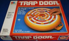 MILTON BRADLEY: 1982 Trap Door Game #Vintage #Games