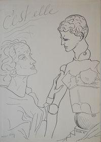 """""""C'est elle"""",  Man Ray (pour les Mains Libres avec Paul Eluard), 1937 Galerie des Modernes #ManRay"""
