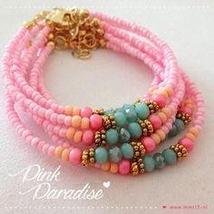 pink paradise bracelets