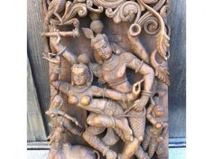 Antique Kama Sutra Carving