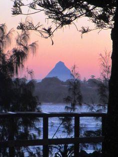 Sunset in Caloundra, Queensland, Australia