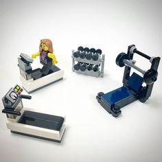 Lego work out equipment Lego Duplo, Lego Technic, Lego City, Lego Modular, Lego Design, Lego Batman, Lego Friends, Legos, Lego Hospital