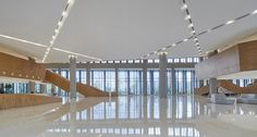 Gallery of Wuhan Tencent R&D Center / IDEAL - 15 Unique Architecture, Wuhan, Atrium, Gallery, Photography, Image, Photograph, Roof Rack, Fotografie
