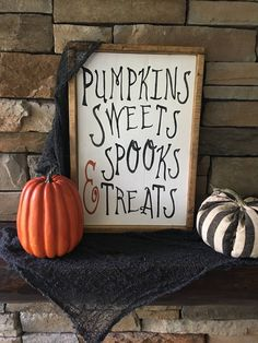 Home Decorating And Staging Halloween Mantel, Farmhouse Halloween, Halloween Home Decor, Halloween Projects, Diy Halloween Decorations, Holidays Halloween, Halloween Diy, Wooden Halloween Signs, Fall Decorations